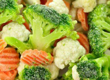 Las verduras congeladas no son sanas, son sanísimas.